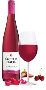 Sutter Home Red Moscato 750ml - Case of 12